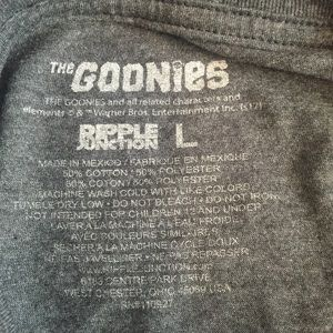 """Ripple Junction Shirts - THE GOONIES """"Never Say Die"""" Graphic Tee"""